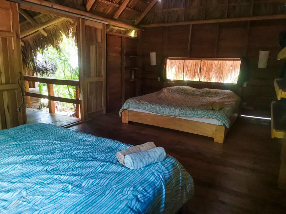 glamping costa rica flor y bambu playa grande casita de madera ananda