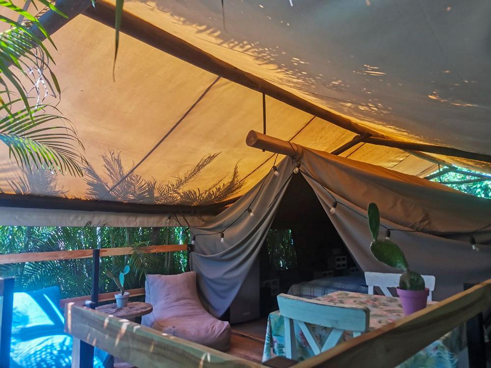 glamping costa rica flor y bambu playa grande tienda mariquita